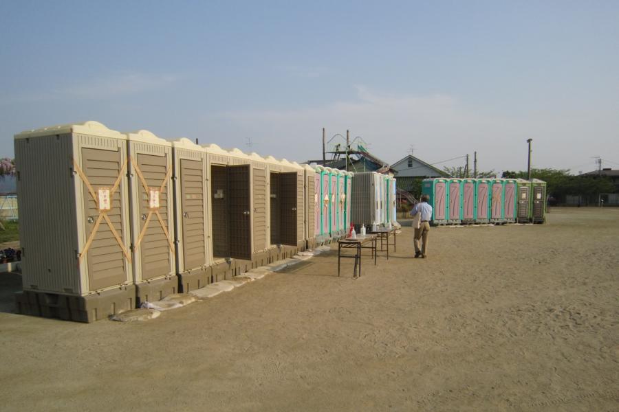 3.11のトイレ|被災と避難所生活とトイレの関係