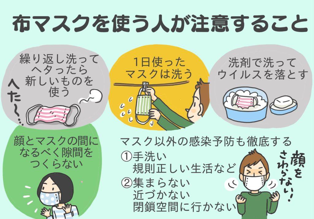 ない 効果 布 マスク